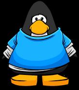 Blue Trendy Shirt on Player Card
