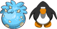 Blue Triceratops Puffle Egg IG