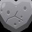 Emoji Stone Heart