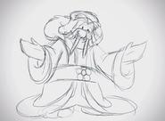 Merry Walrus concept sketch