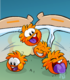 Orange Puffle card image