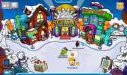 Party puffles town