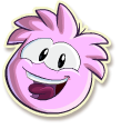 Pink puffle selected