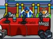 Polo Field y Megg sentados