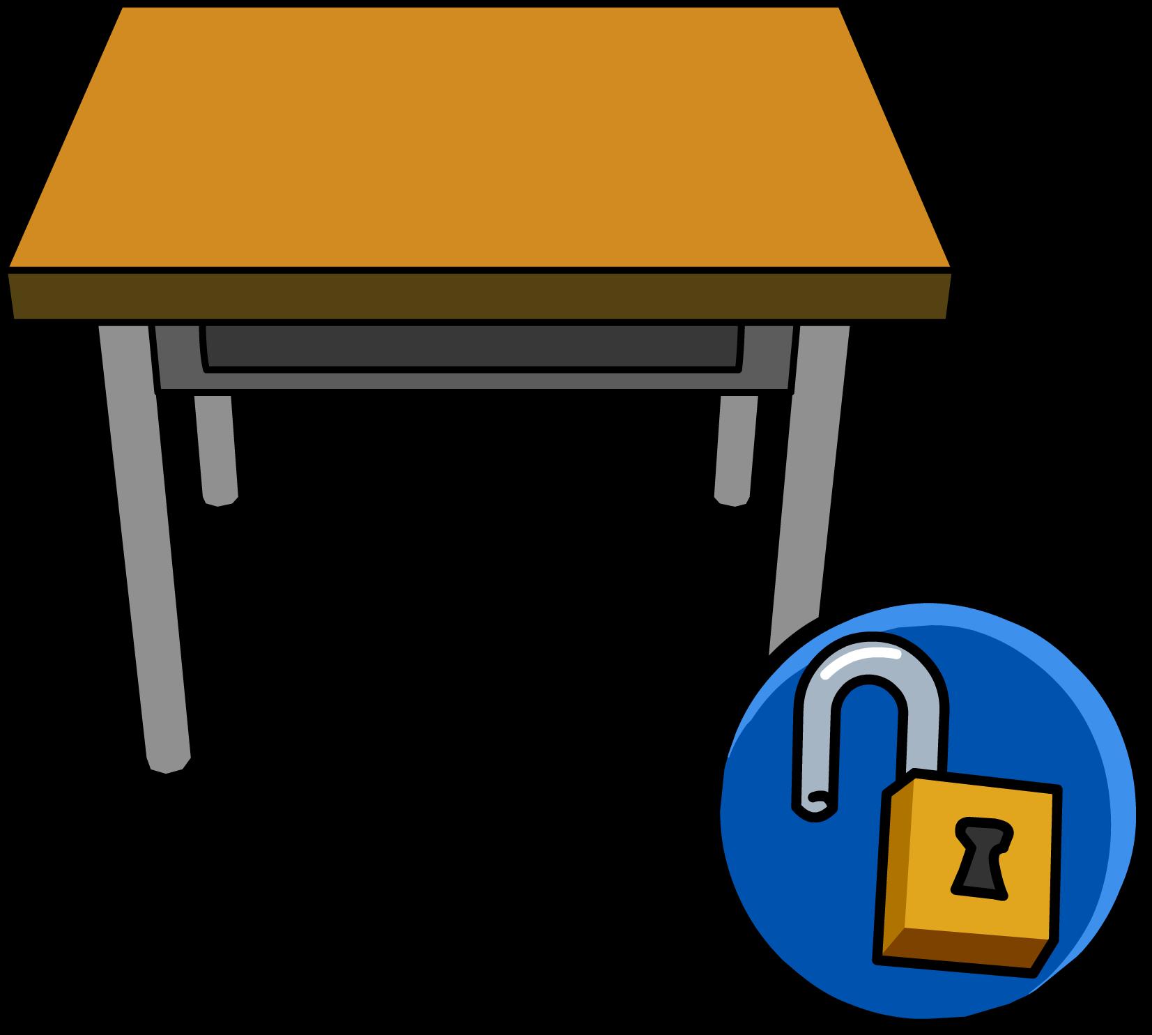 classroom desk clipart. classroom desk unlockable icon.png clipart