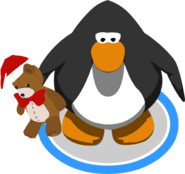 Holiday Teddy ingame