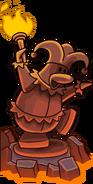 Knight's Quest 2 jester statue