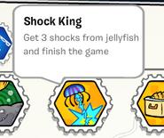 Shock king stamp book
