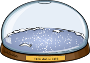Snowglobe igloo in-game es
