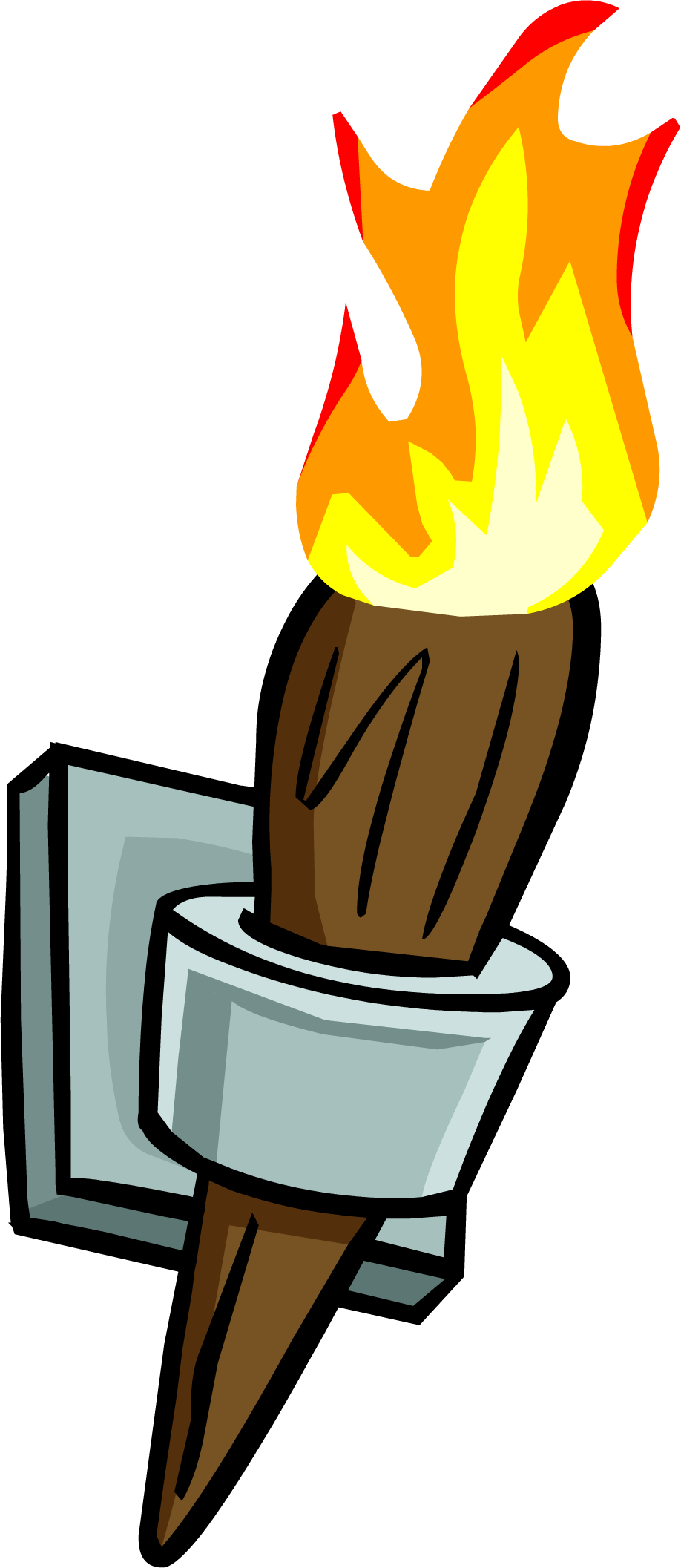 Image - Wall Torch.PNG   Club Penguin Wiki   FANDOM powered by Wikia for Sports Torch Png  181obs
