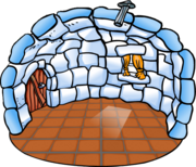 Basic Igloo with Terracotta Tiles