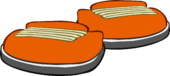 Pumpkin Sneakers icon