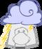 Sombrero de Tormenta icono