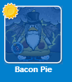 Bacon en la lista