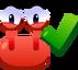 Emoji Crab Yes