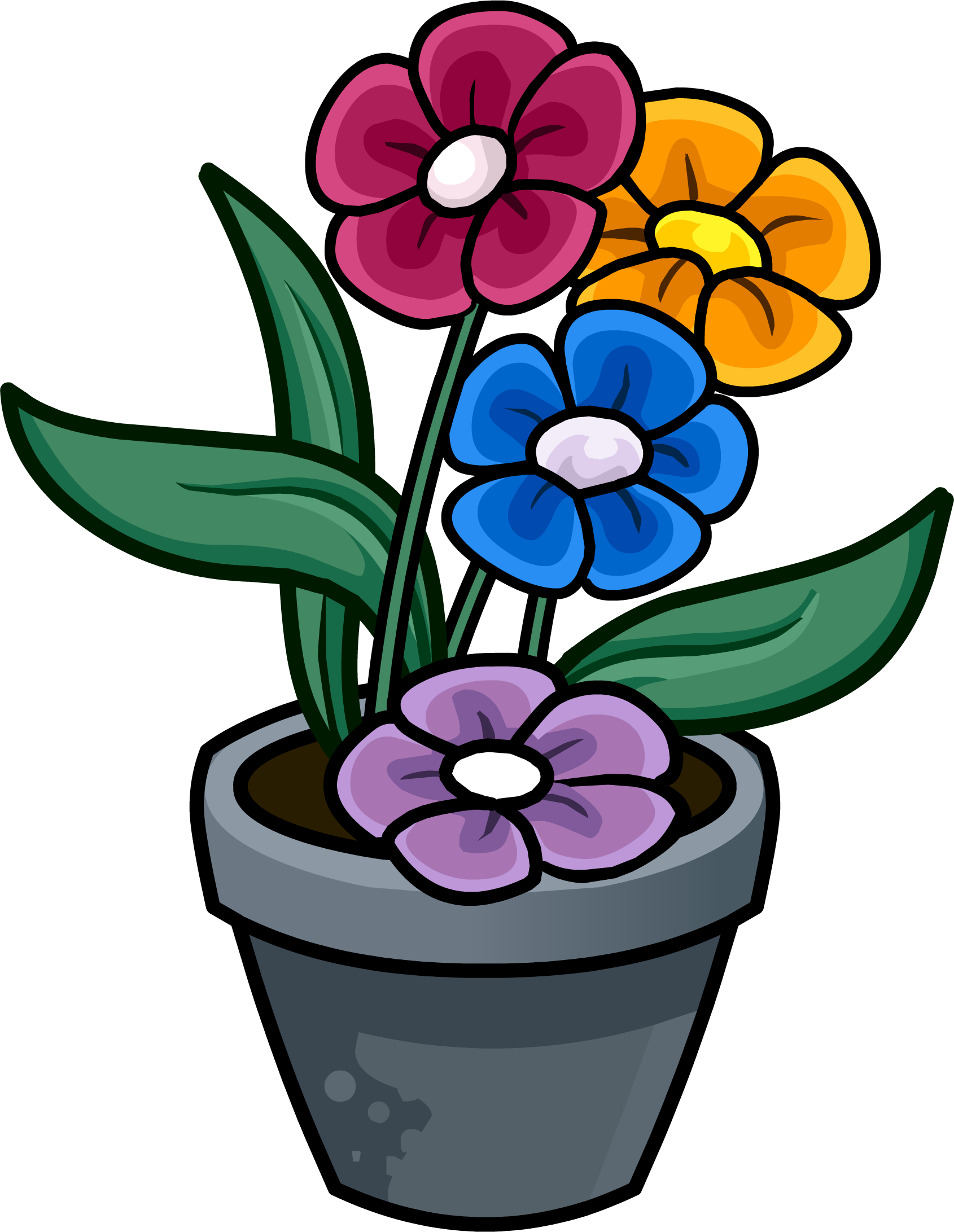 image - flower pot | club penguin wiki | fandom poweredwikia