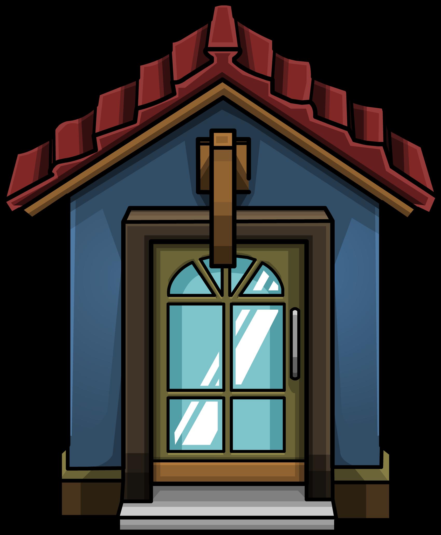 blue door house. Cozy Blue Door House L