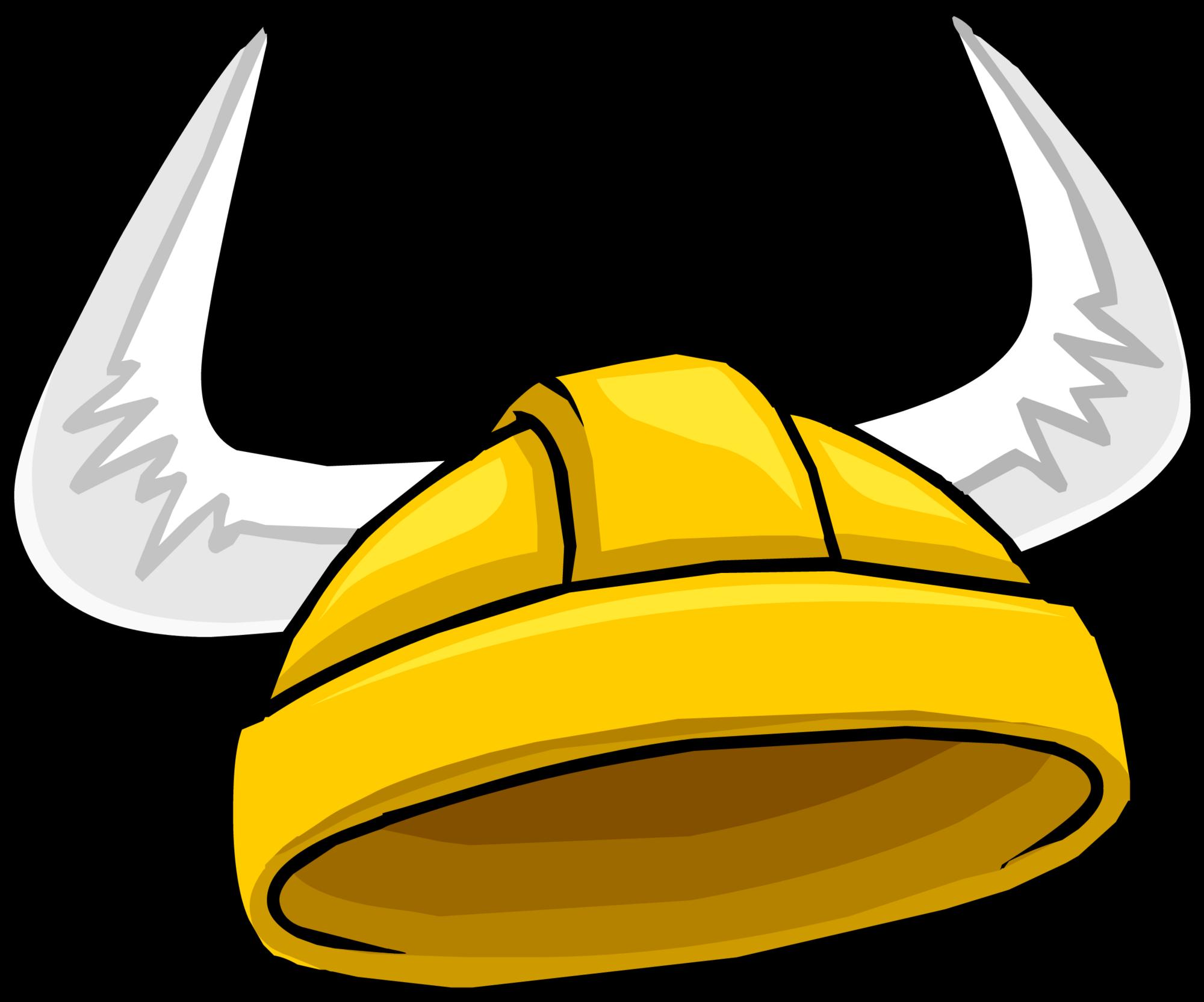 ba42049b7ab Gold Viking Helmet (Puffle Hat)
