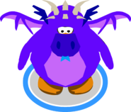 Purple Dragon Costume in-game