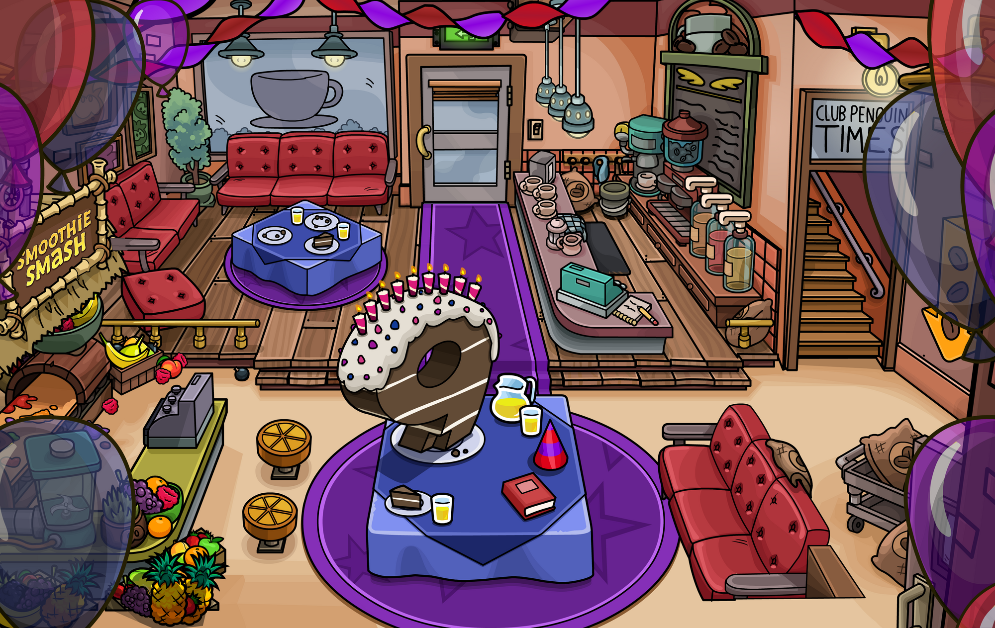 Th anniversary party club penguin wiki fandom powered by