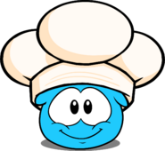 Chef's Hat in Puffle Interface