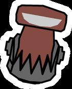 Robot Villain Pin