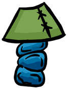 Stone Lamp furniture icon ID 594