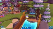 Waddle On Party Boardwalk wish squid