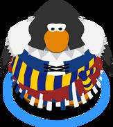 Blue Buccaneer Dress in-game