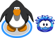 Blue Crystal Puffle ig walk
