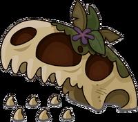 Dinosaurus Skull