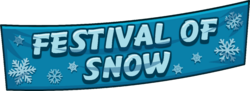 Festival of Snow 2015 Logo