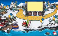 Fiesta Sigan Pingüineando Muelle