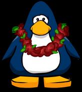 Guirnalda de Navidad tarjeta