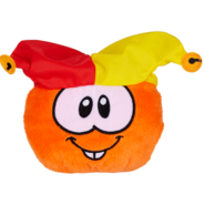 Puffy Jester Orange Toy