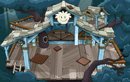 White Puffle Tree House sprite