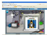 Club Penguin- Jay Shapes08 trapped in a cage Mission 10