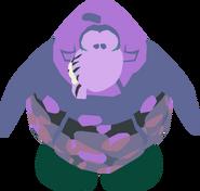Purple zombie 1