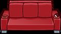 Red Designer Couch sprite 003