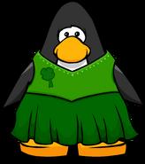 Shamrock Dress from a Player Card