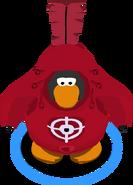 Bull Target Costume in-game