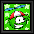 Green Puffle Picture furniture icon
