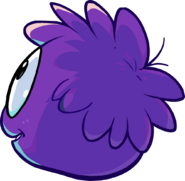 Purple Puffle in CP times