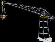RH Quest 2012 Beach construction crane