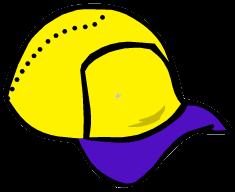 File:Yellow Baseball Hat.png