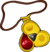 Amulet icon fire gem