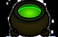 Caldero verde