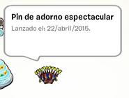 Pin de Adorno Espectacular album