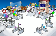 Puffle Party 2009 Snow Forts