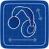 Blueprint Headphones icon